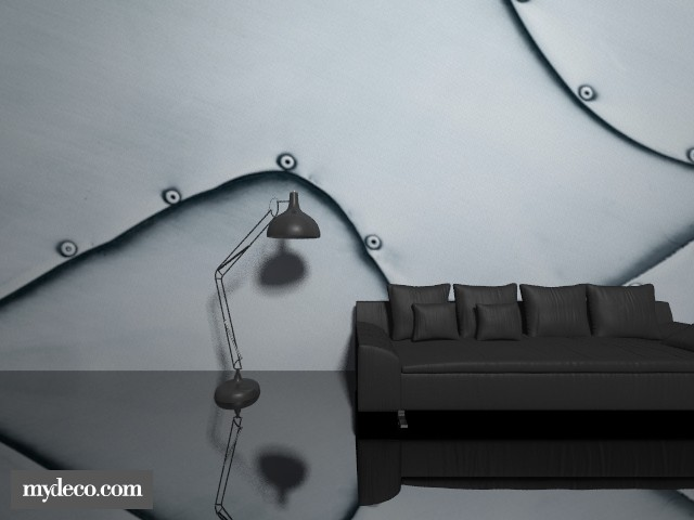 metal  - Living room - by yasmeengreen