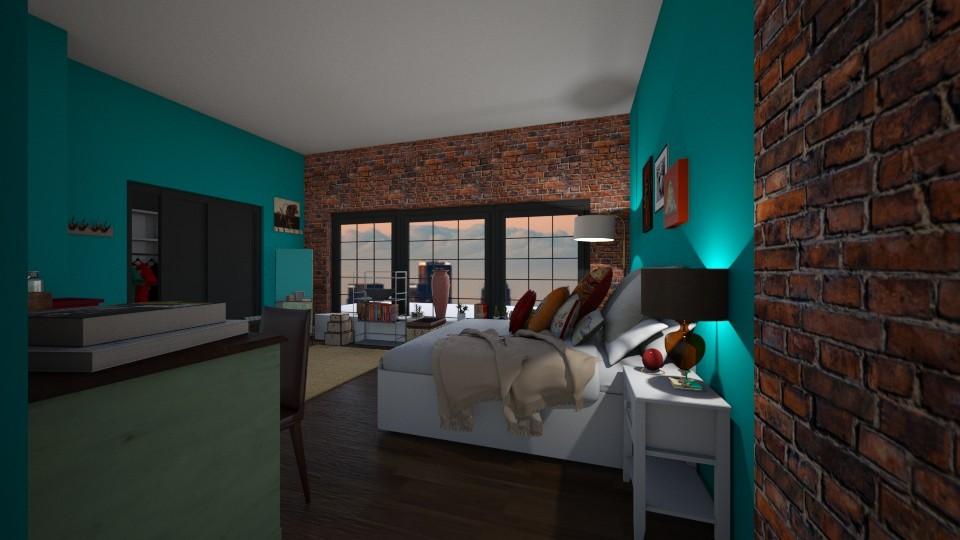 NG - Rustic - Bedroom - by zio