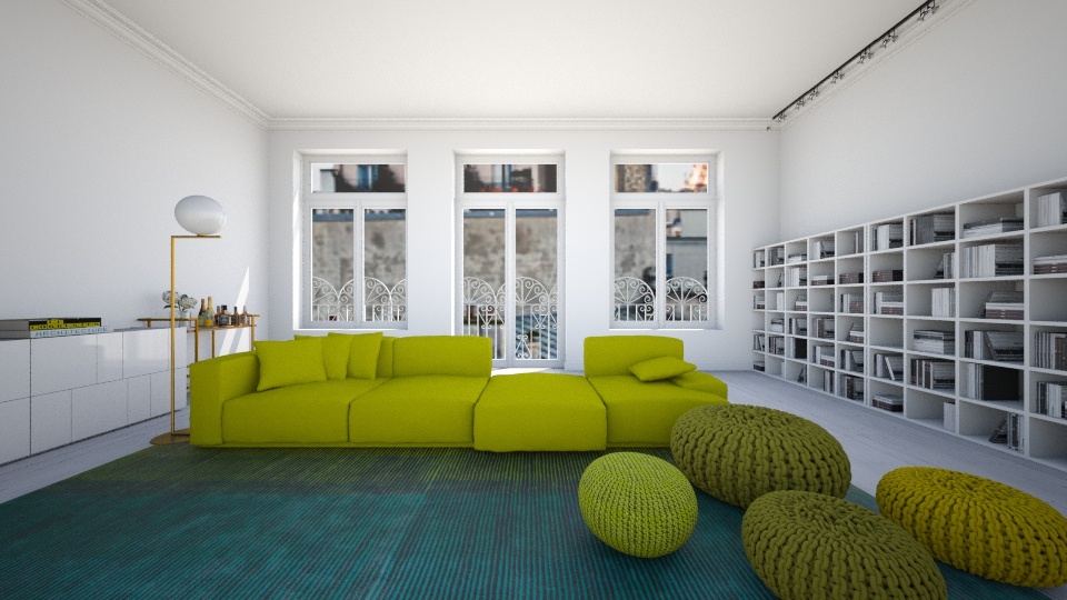 Think Green - Living room  - by amandafern