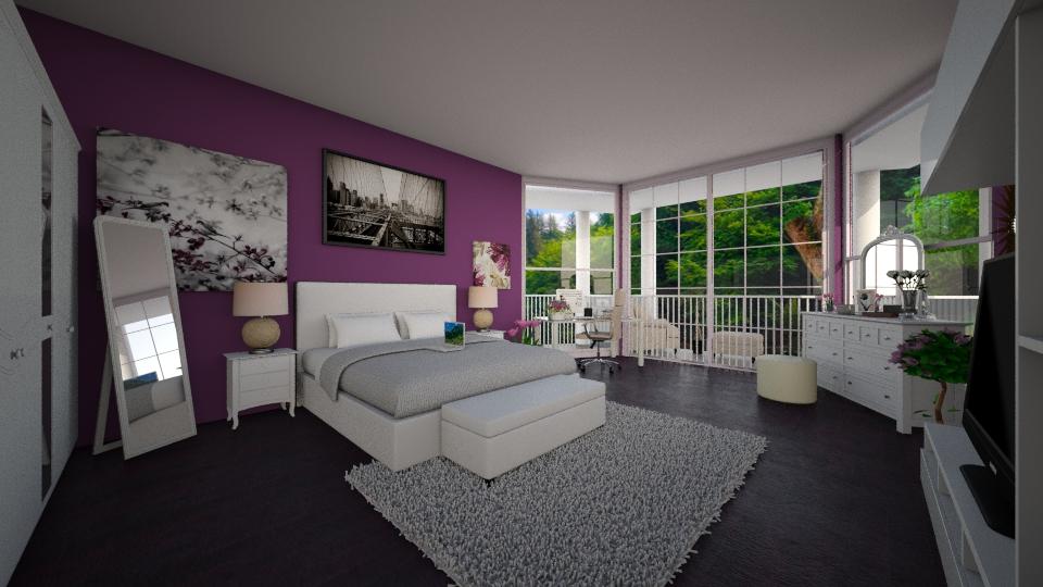 sjmj - Bedroom - by Mia Lis