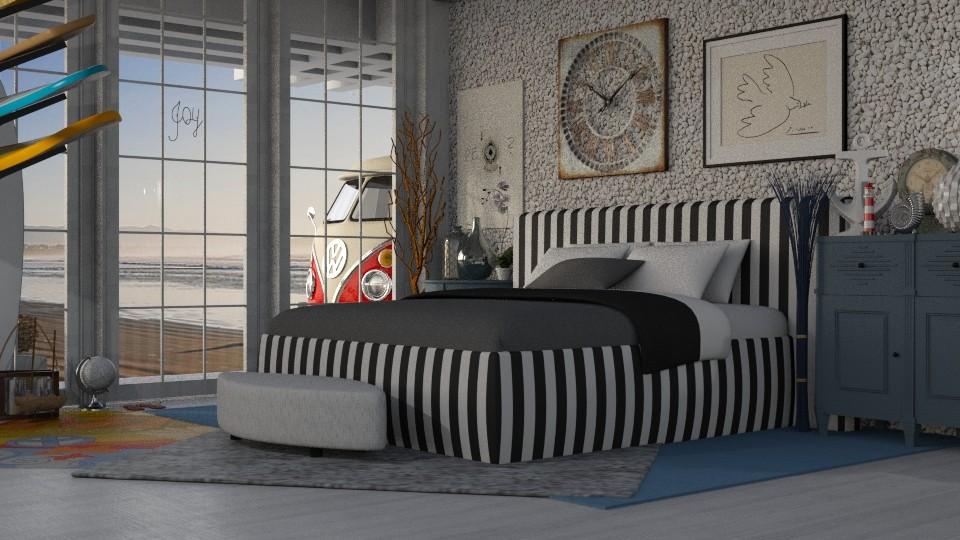 Surf - Global - Bedroom  - by LuzMa HL