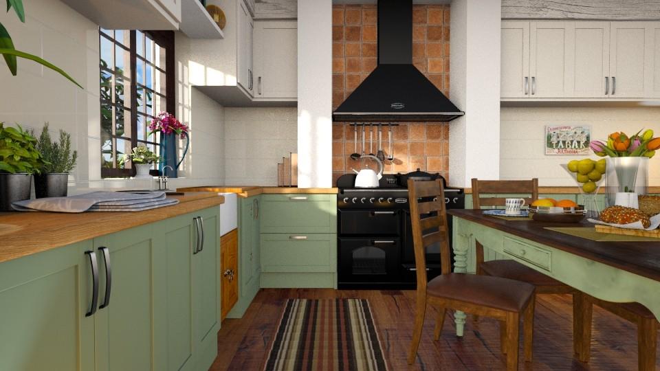 Renovated Kitchen - Kitchen - by Vie Confortable