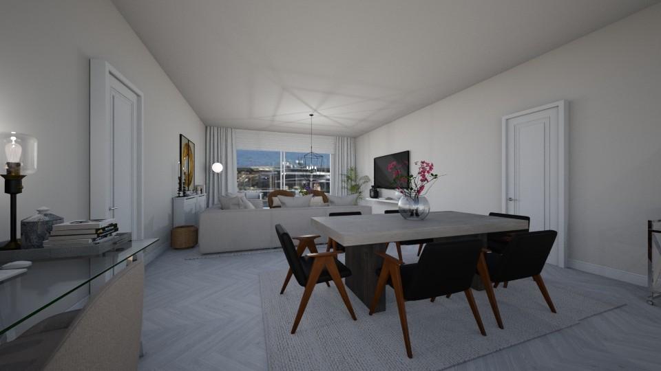 Open Plan Apartment  - by xlaurensinteriors