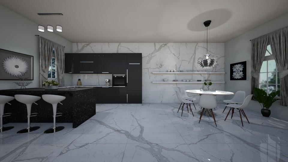 modern kitchen - Kitchen - by erladisgudmunds