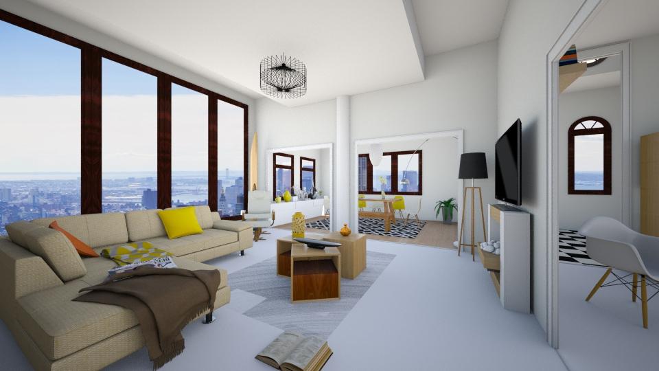 Sunday morning - Modern - Living room  - by christoforos