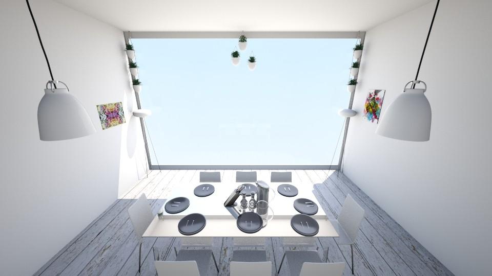 Dining Room - Modern - Dining room - by KKIsCrazyAF