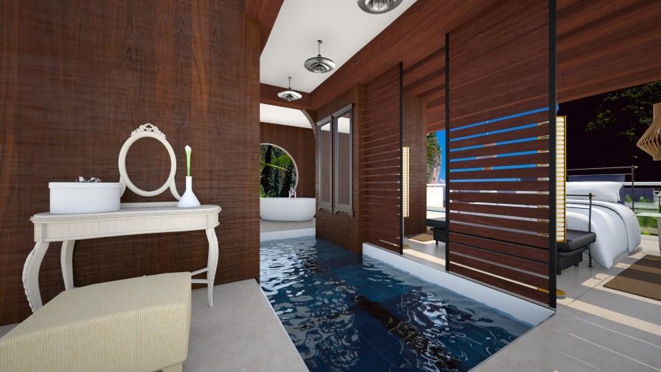 thai - Bedroom - by TanjaaS