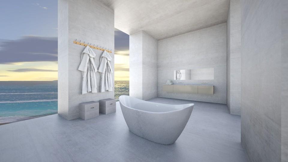 Shades of grey - Bathroom  - by amandafern