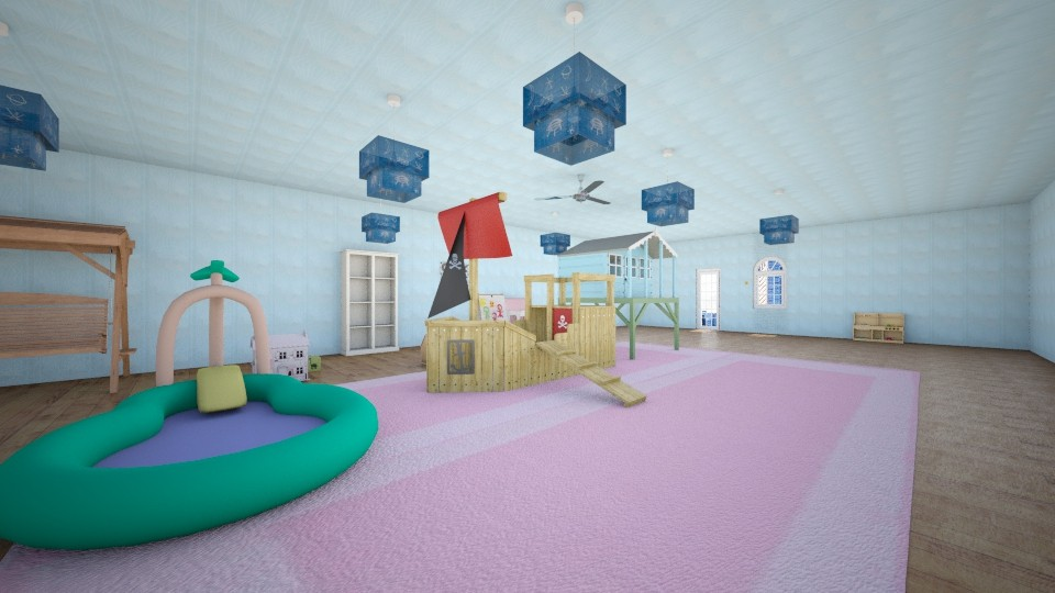 Daycare 1 - Modern - Kids room - by Ava Shirley
