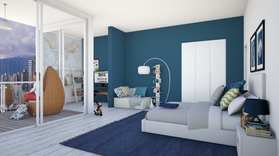 Bedroom and Balcony - Classic - Bedroom - by Catarinatsimoes