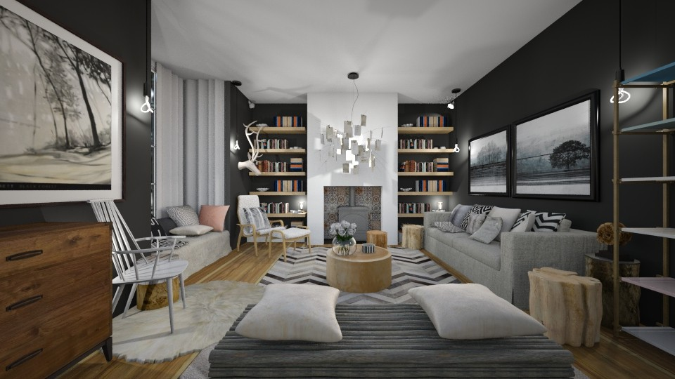 Partanen New - Modern - Living room - by camilla_saurus