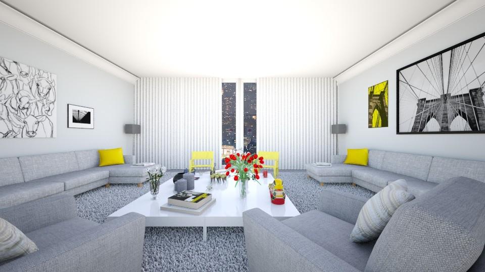 Gabriels living room 1 - Living room - by Sophie Cordeiro