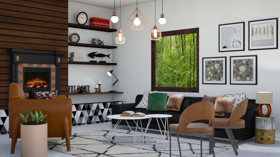 Boho Office - by tiara7