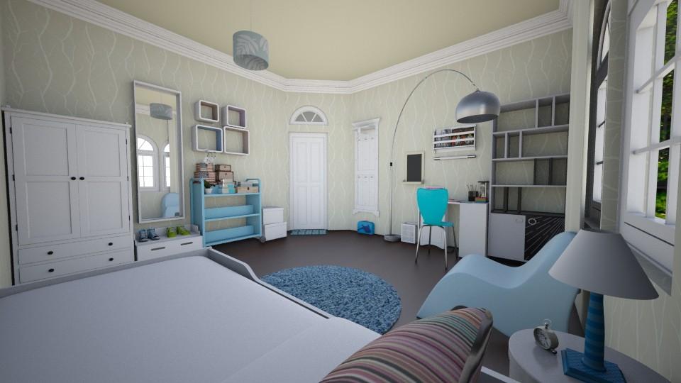 little girl blue - Kids room - by peedeepow