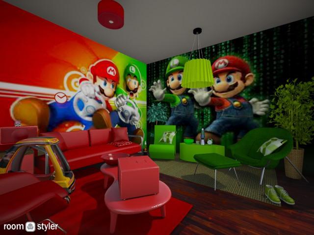 Mario and Luigi - by Nan