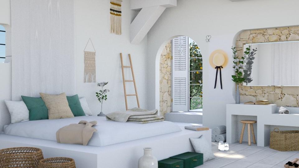 Retreat - Bedroom - by ArtHousedeco