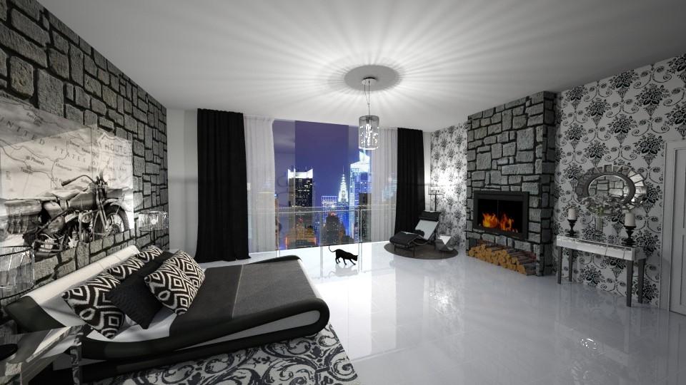 krneki - Bedroom - by seldina