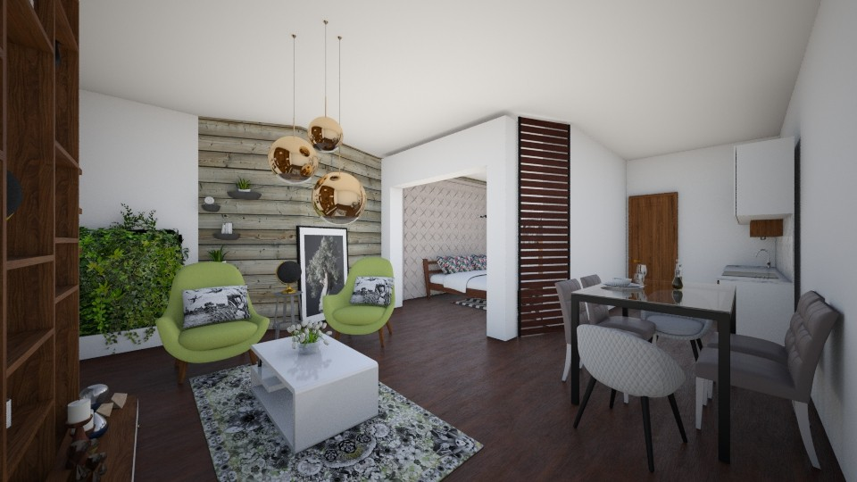 natural wood - Living room - by zulay290