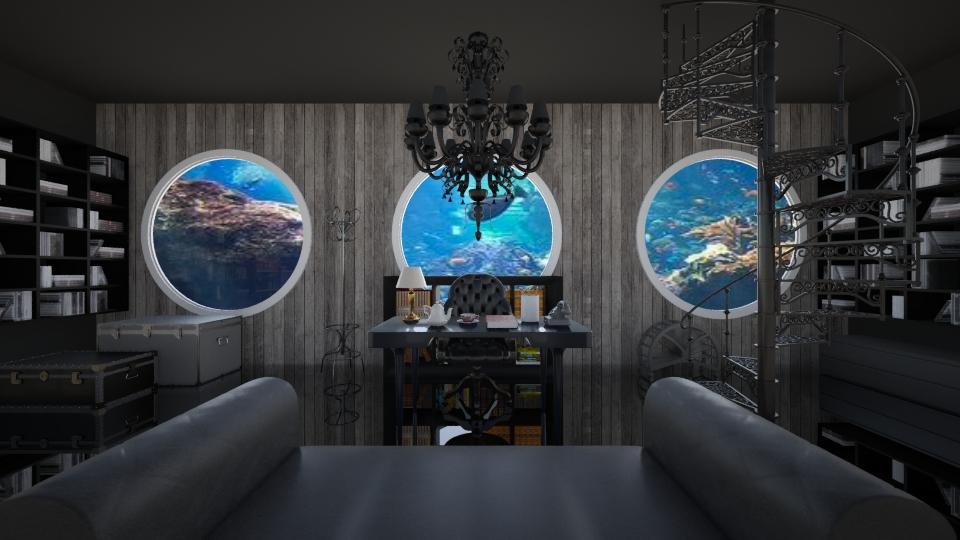 underwater office - Office  - by GosiaT