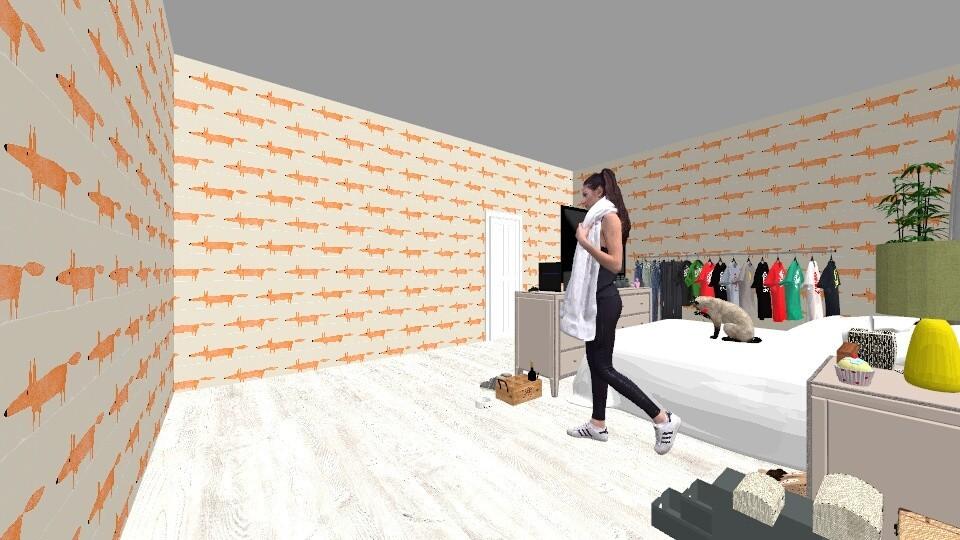 work - Bedroom - by yukicrossnowblood