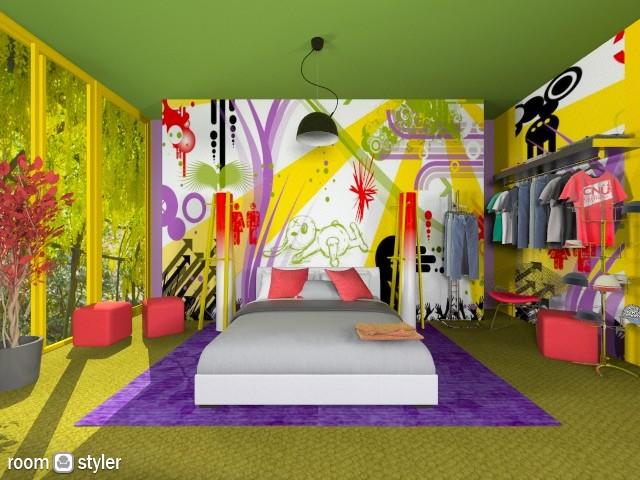 art - Modern - Bedroom - by loretasofia