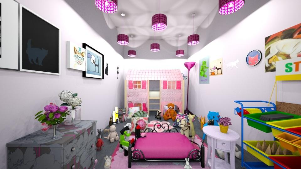 Molly s bedroom - Bedroom - by hala011