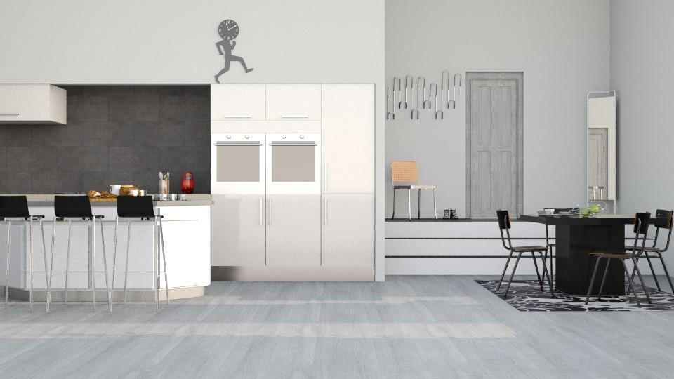 grey wooden floor - by svimglim