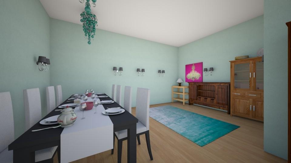 Oceania Dining Room  - Modern - Dining room - by Elf_prettyballetgirl16