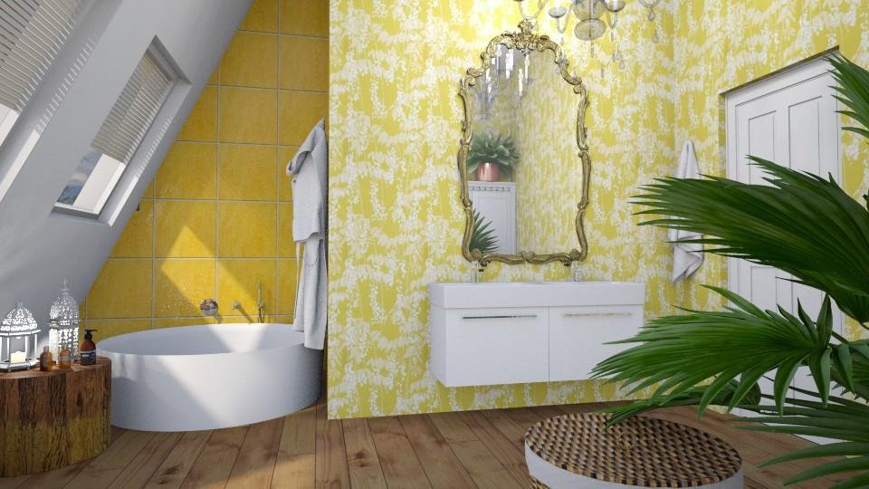 Yellow Bathroom - Bathroom  - by ScillaSiberica