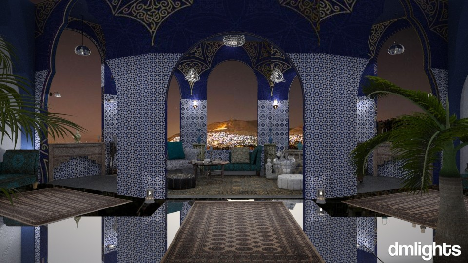 Damascus Night - Living room  - by DMLights-user-1468788