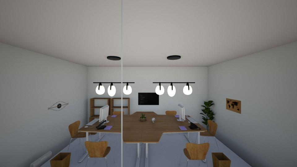 office - Modern - Office - by RollPinkEra
