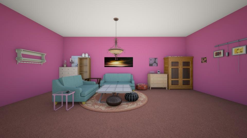 French Mauve Living Room - Modern - by Elf_prettyballetgirl16