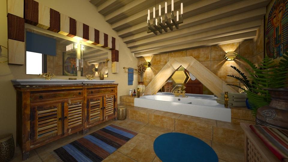 Egyptian Bathroom - by ZsuzsannaCs