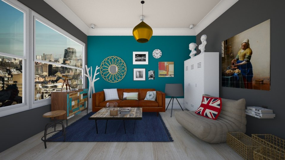 UK - Modern - Living room - by Karim Mahfouz