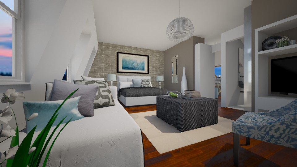 Be My Guest - Modern - Bedroom - by CarolaCN