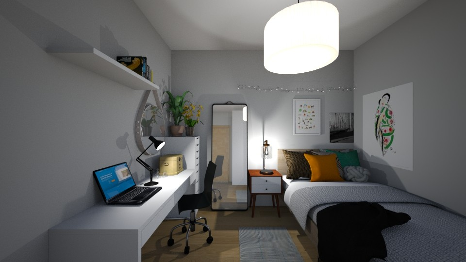 Nelsonik12 - Bedroom  - by gwiazdanela