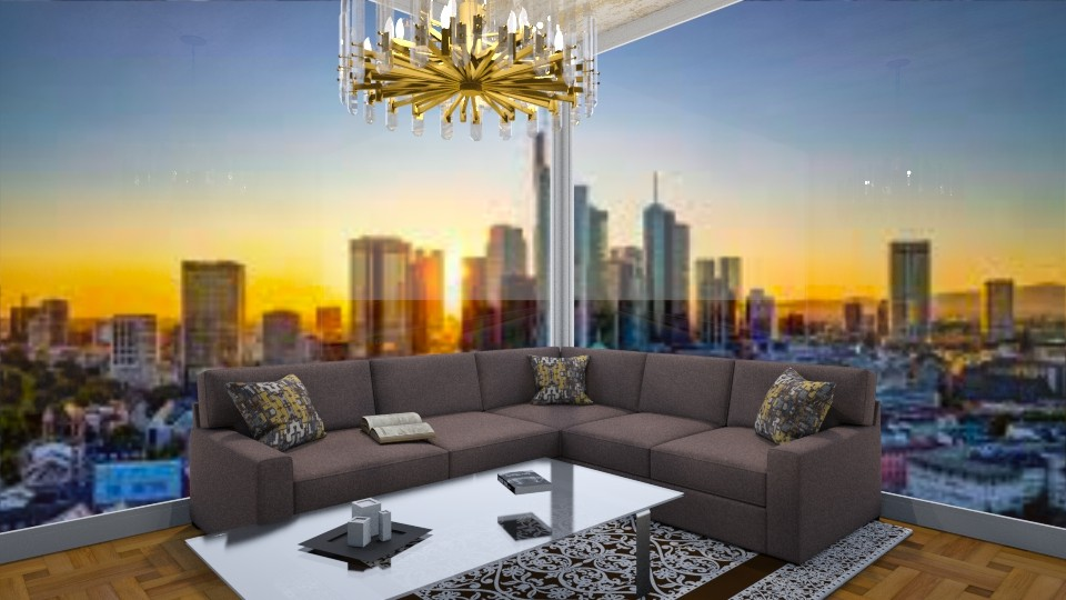 Desing - Living room  - by Mufix