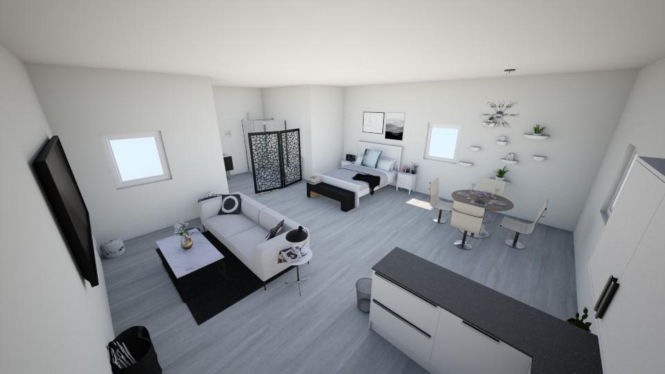studio - Minimal - Bedroom - by skylerbrown