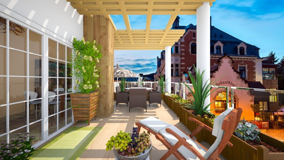 roof garden - Garden - by rasty