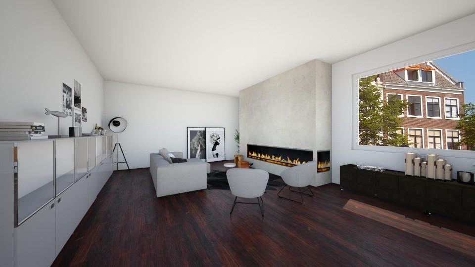 zithoek huis 5 - Living room  - by karlijnpoos