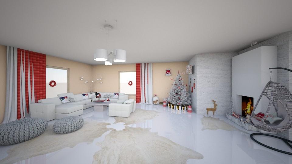 v - Living room - by veki
