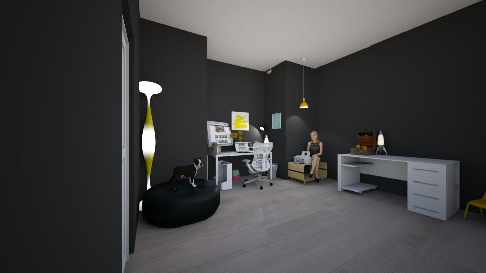 Hamilton Home Mom Office4 - Glamour - Office - by LovelyLadyB