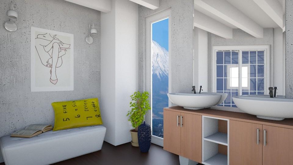 Bathroom Nook - Bathroom - by hellokiwe