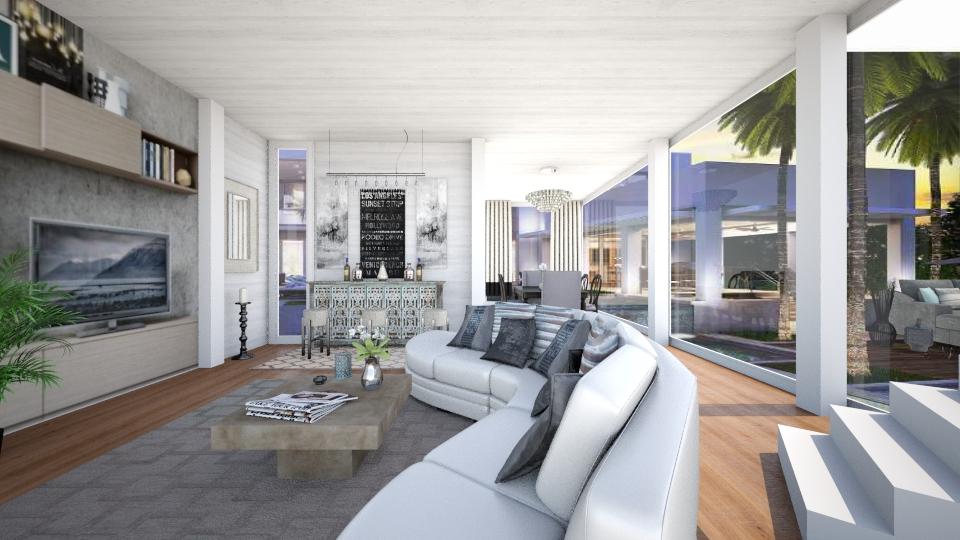 LA - Living room - by steph01mami