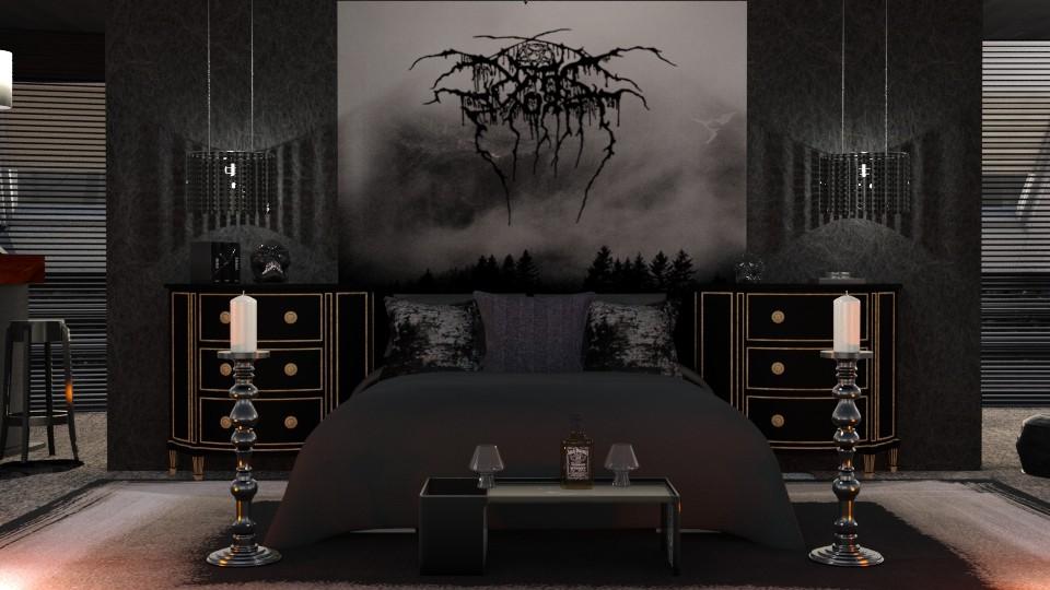 Darkthrone room to GA - by ZsuzsannaCs