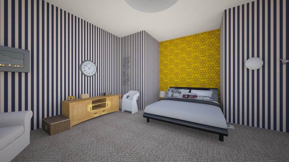 sypiania - Bedroom - by gabrysia347