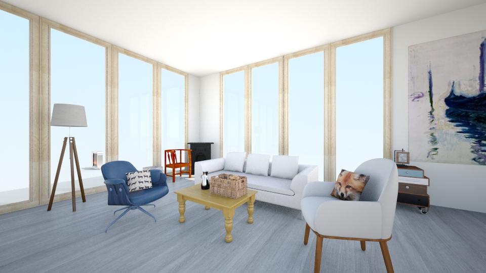 Noruega - Minimal - Living room - by Larise