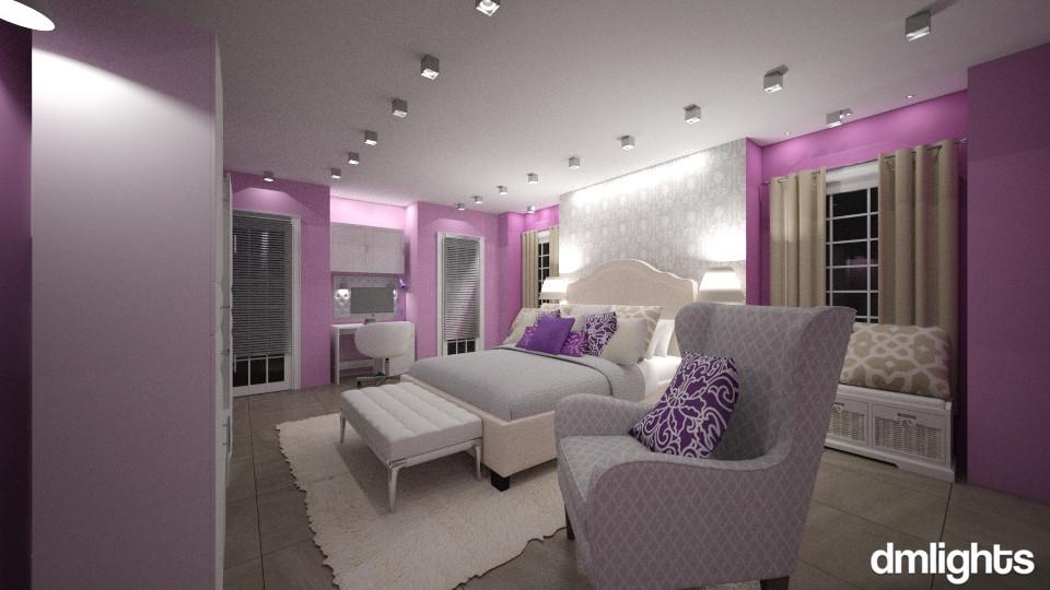 Holly Lauren Room - Bedroom  - by DMLights-user-1186190