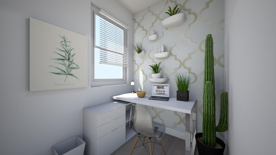 Modern Home Office - Modern - Office - by Papaya Tree