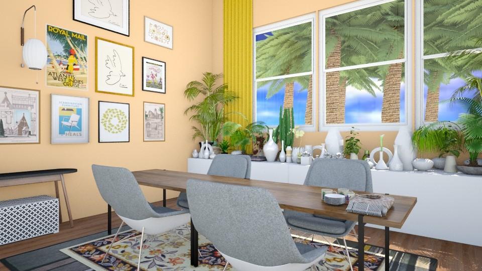 Sherbert House Dining - Living room - by reedj0218